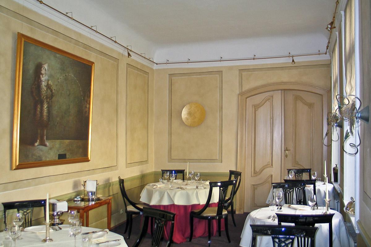 Restaurant Wullenwever Lübeck – Gastraum: Farbberatung und Gestaltung der Wände